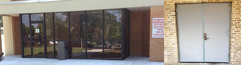 Arkansas Automatic Doors Glass